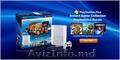 Sony PlayStation Crystal White 3 Super Slim 500Gb. + 1 год бесплатных закачек иг