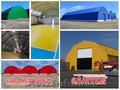 Ангары под склад - прямостенные,  шатровые,  арочные – изготовление,  продажа