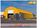 Завод строительных конструкций «Ангар» предлагает изготовление арочных ангаров.