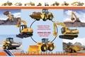 Новый трактор погрузчик для фермы