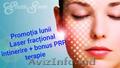 Promotia lunii ianuarie  -Laser fracțional întinerire – PRP terapie (plasmolifti