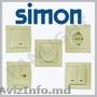 Розетки и выключатели Simon Electric N1 в Испании,  розетки выключатели кремового